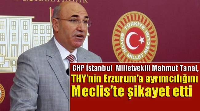 THY'NIN ERZURUM BİLET FİYATLARI MECLİSE TAŞINDI!