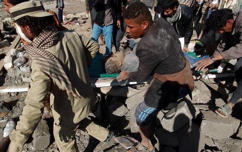 Iran Condemns Saudi Strikes in Yemen 'Dangerous Step' + Video &